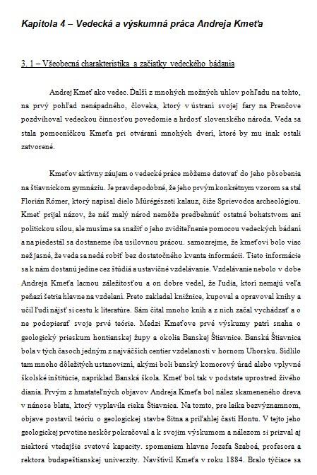 Zivotopis Andrej Kmet Referat Zadania Seminarky Sk