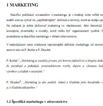 Využitie marketingu v organizácii zaoberajúcej sa distribúciou