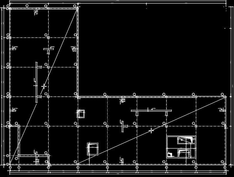 Konstrukcie Budov Vykres Tvaru Strechy V Cade Technicky Vykres