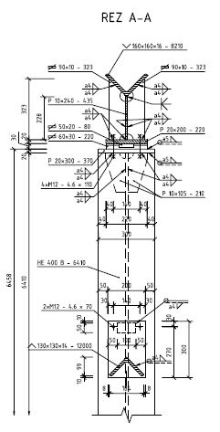 Priehradovy Vaznik Detailny Vykres Technicky Vykres Zadania