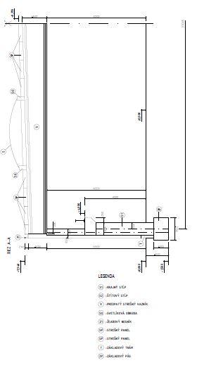 Konstrukcie Budov Vykres Zostavy Priemyselnej Haly Technicky
